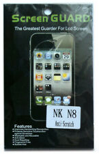 Nokia N8 Screen LCD Protector Guard Care PET Anti-ScratchTransparent Clear