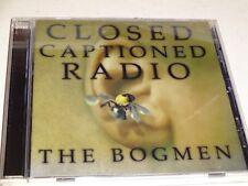CD The Bogmen: Closed Captioned Radio (1998 Arista Records) Indie Rock