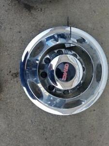 "17"" Wheel Trim Ring With Cap GMC & CHEVY SILVERADO 3500 11 12 13 14 15 16 17 18"