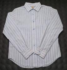 Men's Vtg 90's BKE Conture Fit button up long sleeve 100% cotton shirt Small