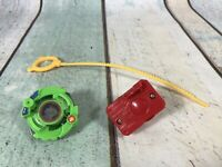 1st Original Beyblade - Roller Attacker with Launcher & Rip Cord
