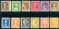 USAstamps Unused FVF US Washington Bicentennial Complete Set Sctt 704-715 OG MNH