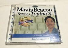Mavis Beacon Teaches Typing 5 For Windows 3.1/95/98 CD