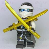 Genuine Ninjago Zane Skybound Mini Figure  njo189 set 70603