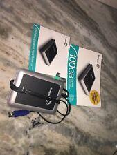 NEW Seagate 100 GB Portable External Hard Drive ~ #9W3638-556
