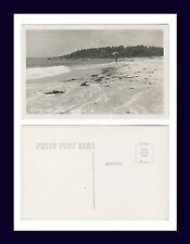 MAINE LONG ISLAND BEACH REAL PHOTO POSTCARD NUMBER 41 KODAK BACK CIRCA 1950
