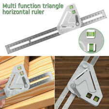 Woodworking Triangle Ruler Angle Ruler Carpentry Measuring Tool Multi-function