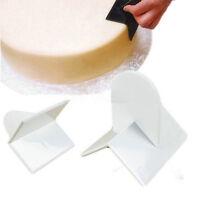 DIY Cake Cream edge Smoother Paddle Fondant Sugar Polisher Finisher Craft Tools