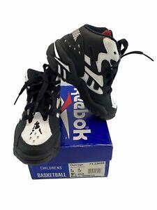 Vintage Reebok Outrage Basketball Athletic Children's Sneaker Shoes Sz 9.5 RARE