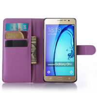 Fashion Leather Wallet Card Pouch Flip Stand Case Cover For SAMSUNG GALAXY On5