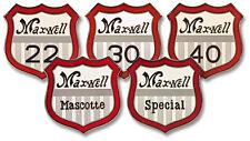 Maxwell radiator medallion Cloisonne 1912 -1913 Models 22 30 40 Mascotte Special