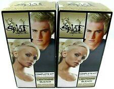 Splat Lightening Bleach Hair Color Dye Made In USA 2-Pack