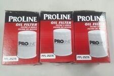Lot of 3  ProLine Oil Filter PPL-25276  1998-2005 Mercedes Benz All Models