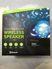 Sharper Image Star Projector Wireless Speaker - HD, LED - Bluetooth
