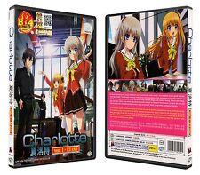 Charlotte Anime DVD Free Shipping English Subtitle