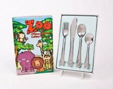 Stainless Steel Children's Zoo Cutlery