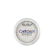 NeoNail 1x Mirror CHROME EFFEKT Silber Nägel UV GEL Nägel Pigment Glitzer Puder