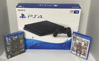 Kingdom Hearts Bundle 1TB Sony PlayStation 4 PS4 Slim Gaming Console Black