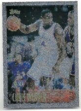 "1996-97 Topps NBA at 50, ""Foil"" NBA Basketball Card #4, Chris Webber, Bullets"
