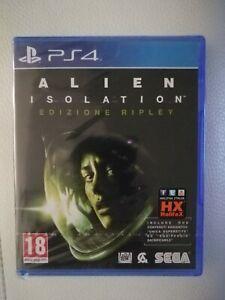 Alien Isolation Edizione Ripley Italiano Rarissimo PS4 Nuovo Sigillato con 2 DLC