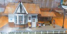 Woodland Scenics O #5852 The Depot (Built-&-Ready) Assembled w/Interior Light
