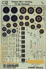 NEW Almark Decals C 12 1:72 Hawker Tempest Mk.V