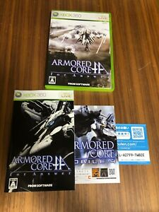 Armored Core For Answer Complete set Import Japan Xbox 360 Japanese game
