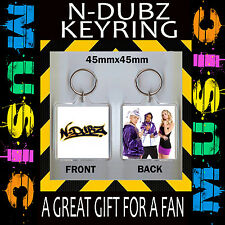 N-DUBZ- KEYRING- KEY CHAIN-45X45MM-GREAT GIFT FOR A FAN #CD45