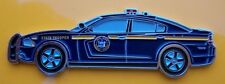 New York State Police Dodge Charger vehicle shaped Challenge Coin NYSP not NYPD