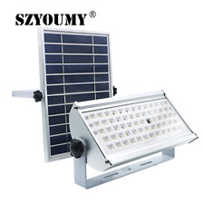 Szyoumy 65Led Microwave Radar Sensor 1500Lm Solar Flood Light Ip65 Outdoor Stree