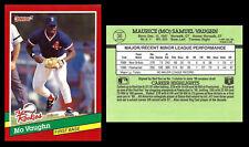 MO VAUGHN RC-1991 DONRUSS ROOKIES # 36-BRAND NEW/SET BREAK-BOSTON RED SOX 1B