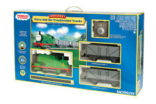 BACHMANN 90069 PERCY AND THE TROUBLESOME TRUCKS TRAIN SET - G SCALE NEW