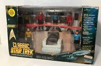 Limited Edition Classic Star Trek Bridge Collector Figure Set 1993 Playmates