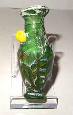 AMPHORISQUE EN VERRE FORME AU NOYAU - 600 BC  RARE CYPRUS CORE GLASS AMPHORISKOS