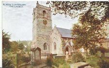 Wales Postcard - Llangollen - The Church  U281