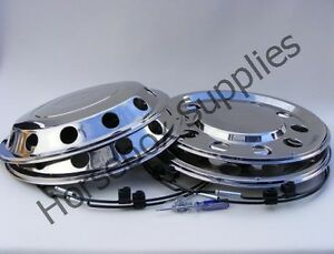 """A1 22.5"""" STAINLESS STEEL WHEEL TRIMS FOR YOUR TRUCK"""