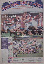 NATIONAL RUGBY POST Vol 10 No 2 Apr/May 1997 CANADA MAGAZINE