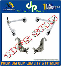JAGUAR S TYPE UPPER & LOWER CONTROL ARM ARMS STEERING KNUCKLEw/BALL JOINTS KIT 4