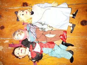Marionette String Puppet antique vintage