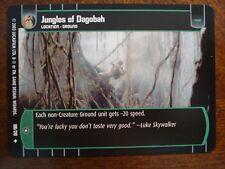 Star Wars TCG ESB 4x Jungles of Dagobah