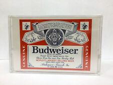 BUDWEISER LN 46 BLANK PROMO AUDIO CASSETTE TAPE NEW RARE JAPAN MARKET