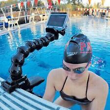 Flexible Clamp Arm Mount Bent Goose Neck Hose For GoPro Hero 3/3+/4 Camera Jaws
