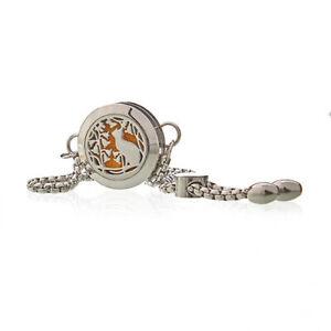 Aromatherapy Jewellery Chain Bracelet - Cat 20mm
