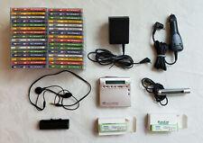 Sony Mz-R900 Minidisc Walkman Recorder With Accessories And 32 Discs