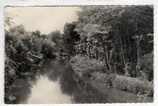 LIZY-sur-OURCQ (77) LAVOIRS sur CANAL de l'OURCQ en 1956
