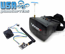 5.8GHz FPV System 700TVL HD Camera 800x480 Goggles 200mW 40Ch Video Transmitter