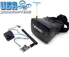 5.8GHz FPV System 700TVL HD Camera 800x480 Goggles 200mW 40Ch Video Transmitter