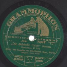 Staatsoper Berlin 1928 , Dirigent Oskar Fried : Die diebische Elster - Rossini