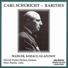 Carl Schuricht Rarities: Mahler, Kodly, Glazunov, New Music