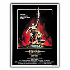 CONAN THE BARBARIAN METAL SIGN WALL PLAQUE Film Movie Advert poster art print